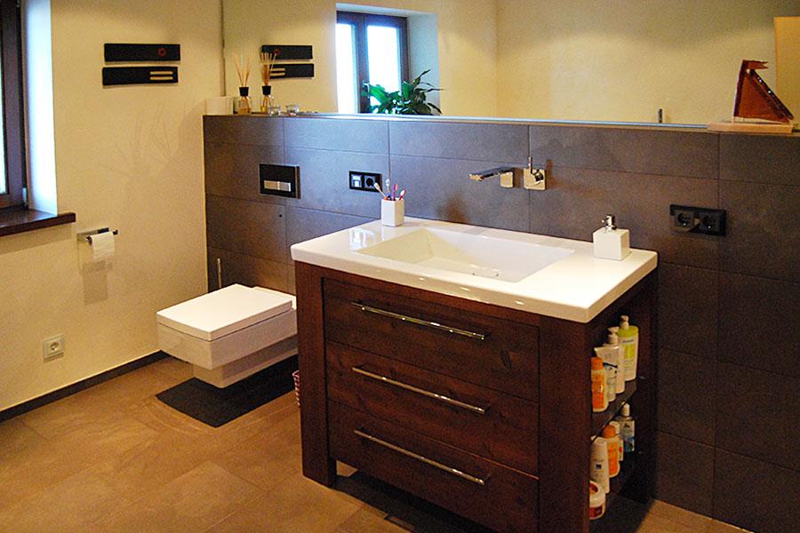 Komplettbadsanierung in Marquartstein