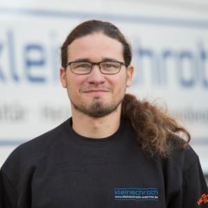 Michael Sturm Kundendiensttechniker bei Fa. Timo Kleinschroth, Schleching